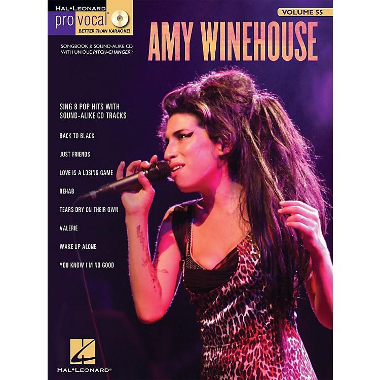 Hal LeonardAmy Winehouse - Pro Vocal Songbook & CD For Female Singers Volume 55