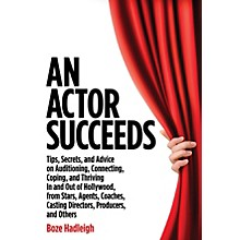 Applause Books An Actor Succeeds Book Series Softcover Written by Boze Hadleigh