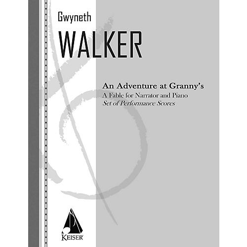 Lauren Keiser Music Publishing An Adventure at Granny's: a Fable for Narrator and Piano LKM Music Series by Gwyneth Walker-thumbnail