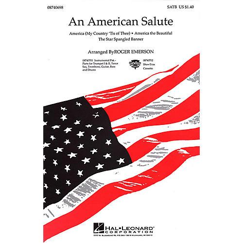 Hal Leonard An American Salute (Medley) SAB Arranged by Roger Emerson-thumbnail