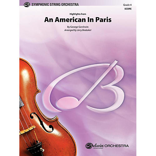 BELWIN An American in Paris, Highlights from Grade 4-thumbnail