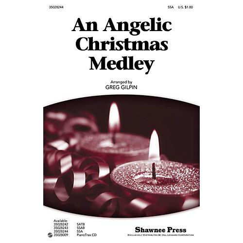 Shawnee Press An Angelic Christmas Medley SSA arranged by Greg Gilpin-thumbnail