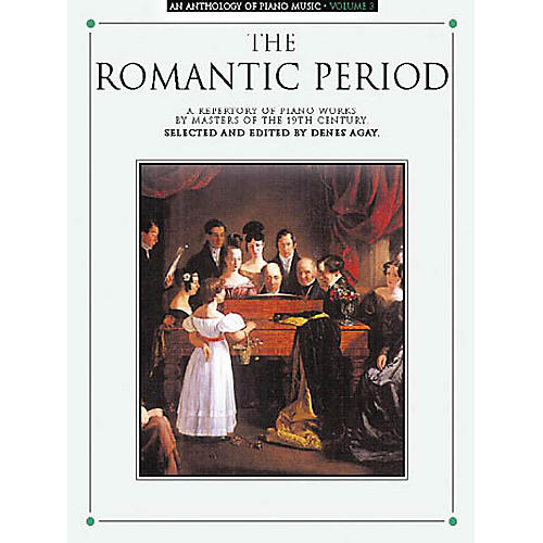 Music Sales An Anthology of Piano Music Volume 3: The Romantic Period Yorktown Series Softcover-thumbnail