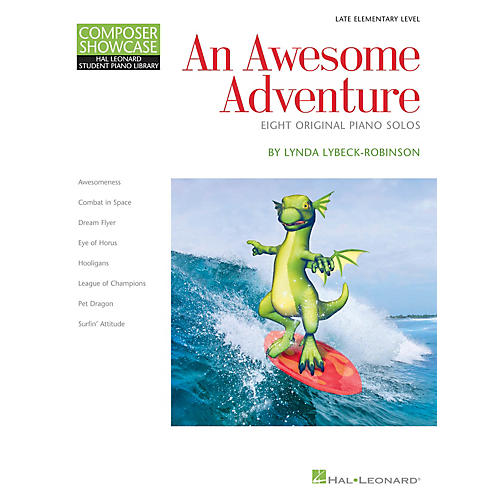 Hal Leonard An Awesome Adventure Piano Library Series Book by Lynda Lybeck-Robinson (Level Book 3)-thumbnail
