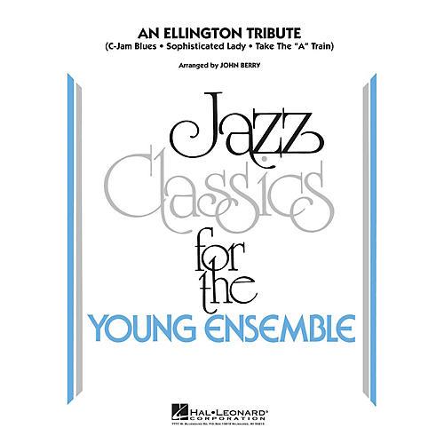 Hal Leonard An Ellington Tribute Jazz Band Level 3 by Duke Ellington Arranged by John Berry-thumbnail