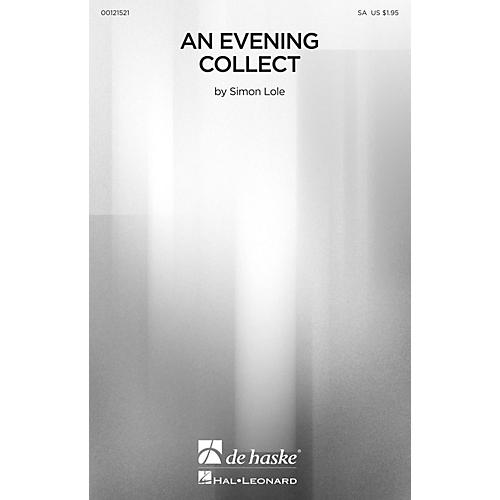 De Haske Music An Evening Collect SA composed by Simon Lole-thumbnail