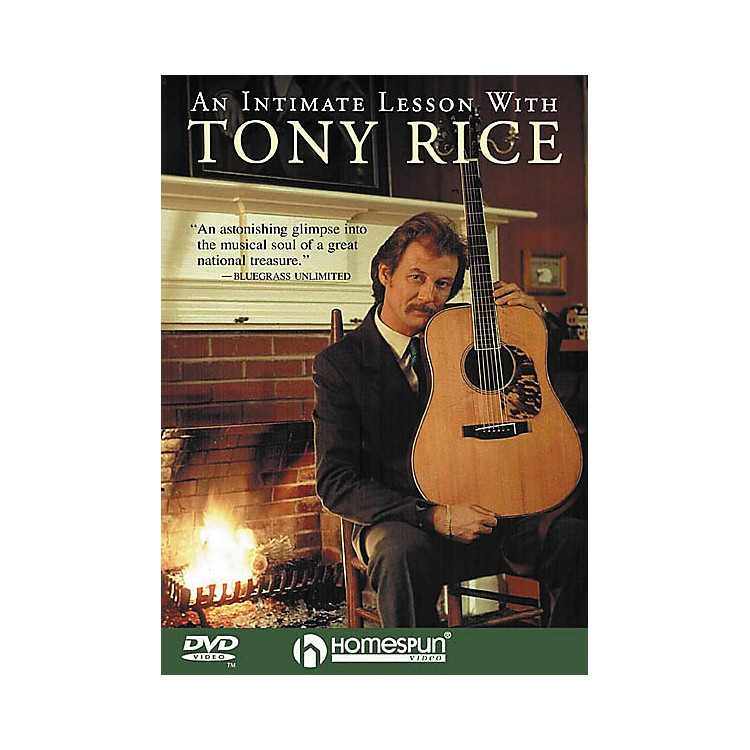 Homespun An Intimate Lesson with Tony Rice (DVD)