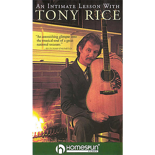 Homespun An Intimate Lesson with Tony Rice Guitar (VHS)-thumbnail