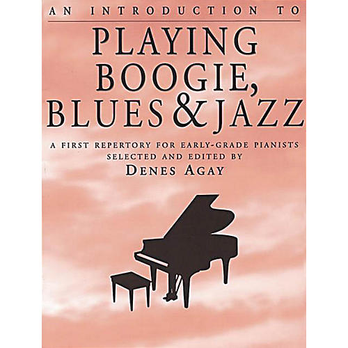Yorktown Music Press An Introduction to Playing Boogie, Blues and Jazz Yorktown Series Softcover-thumbnail