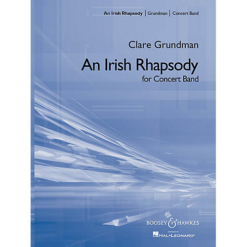 Boosey and Hawkes An Irish Rhapsody (Full Score) Concert Band Composed by Clare Grundman-thumbnail