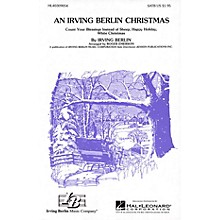 Hal Leonard An Irving Berlin Christmas (Medley) SATB arranged by Roger Emerson