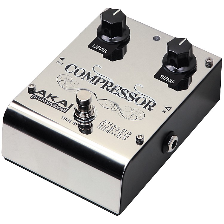 Akai ProfessionalAnalog Custom Shop Compressor Guitar Effects Pedal