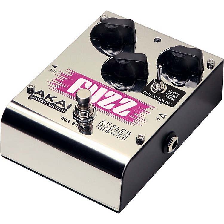 Akai Professional Analog Custom Shop Tri-Mode Fuzz Guitar Effects Pedal