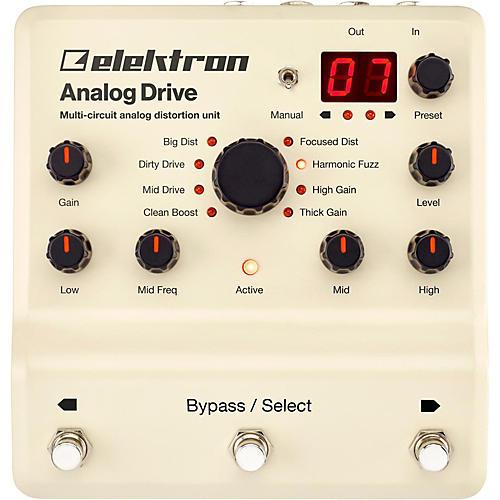 Elektron Analog Drive Multi-Circuit Analog Distortion Unit Pedal-thumbnail