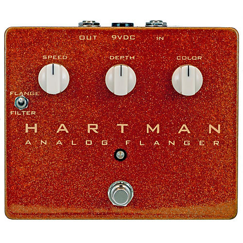 Hartman Electronics Analog Flanger Guitar Effects Pedal