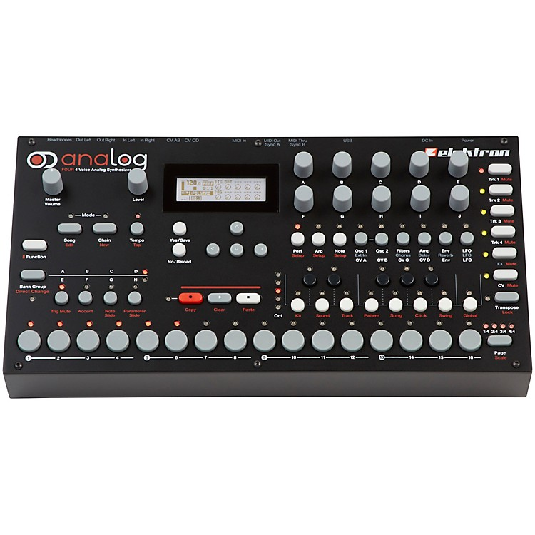 Elektron Analog Four Tabletop Synthesizer