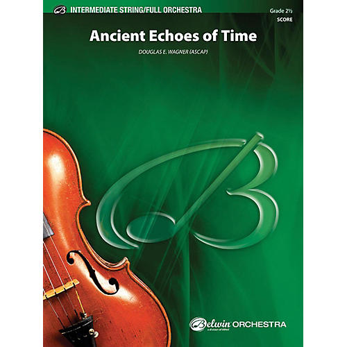Alfred Ancient Echoes of Time Full Orchestra Grade 2.5-thumbnail