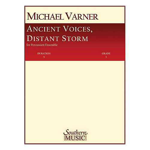 Hal Leonard Ancient Voices, Distant Storms Southern Music Series Composed by Varner, Michael-thumbnail
