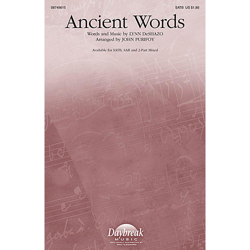 Hal Leonard Ancient Words SATB