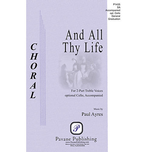 Pavane And All Thy Life 2-Part composed by Paul Ayres-thumbnail