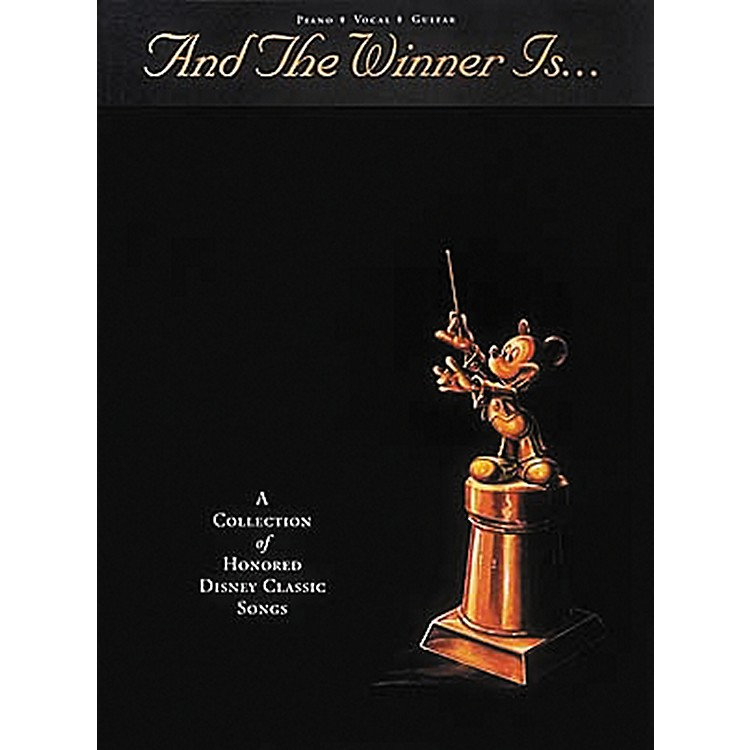 Hal Leonard And The Winner Is… Piano, Vocal, Guitar Songbook