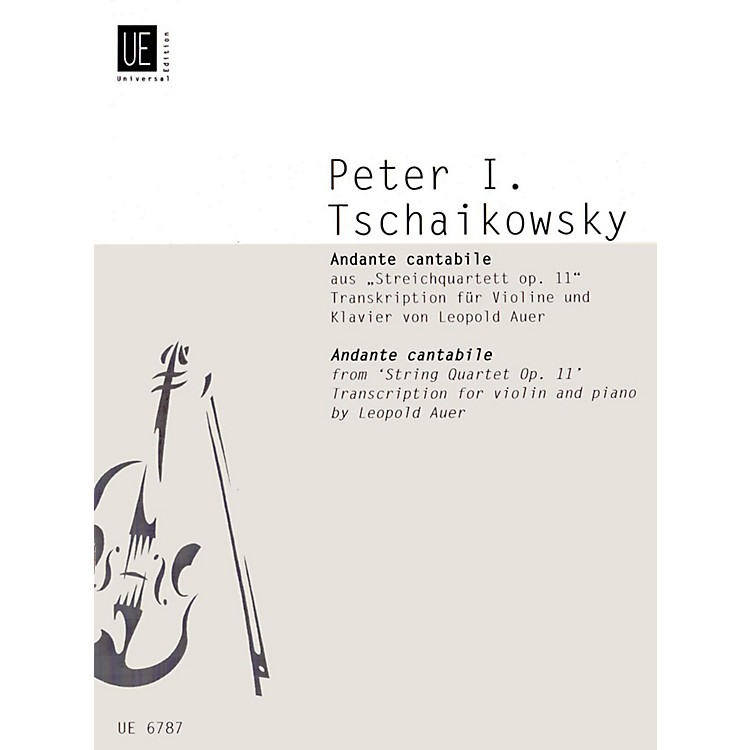 Carl FischerAndante Cantabile (Book + Sheet Music)
