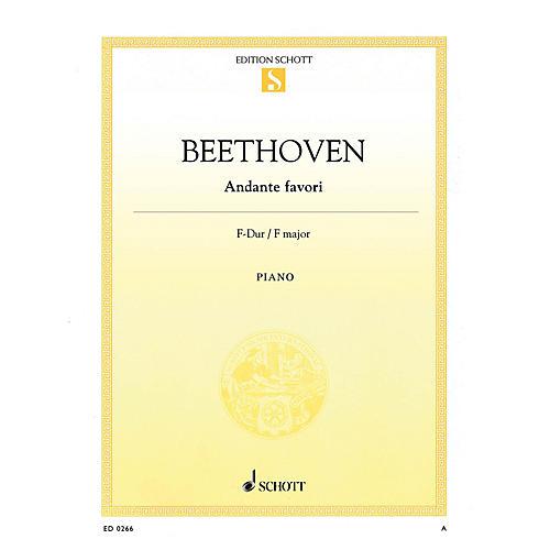Schott Andante Favori in F Major, WoO 57 Schott Series
