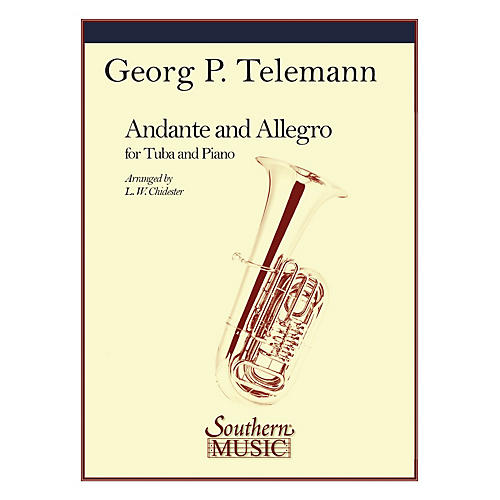 Southern Andante and Allegro Southern Music Series Composed by Georg Philipp Telemann Arranged by L.W. Chidester-thumbnail