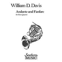 Southern Andante and Fanfare (Archive) (Horn Quartet) Southern Music Series Composed by William Mac Davis