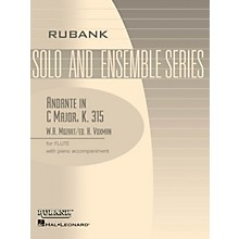 Rubank Publications Andante in C Major, K. 315 (Flute Solo with Piano - Grade 4) Rubank Solo/Ensemble Sheet Series