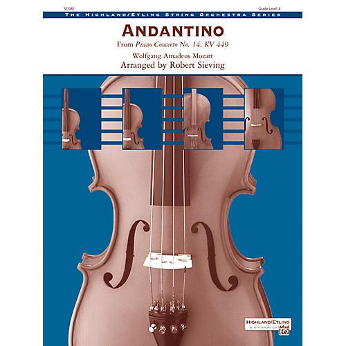 Alfred Andantino String Orchestra Grade 4 Set-thumbnail