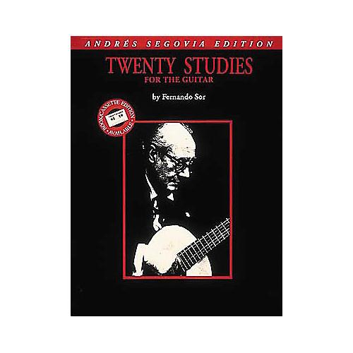 Edward B. Marks Music Company Andres Segovia 20 Studies for Guitar Transcribed Book-thumbnail