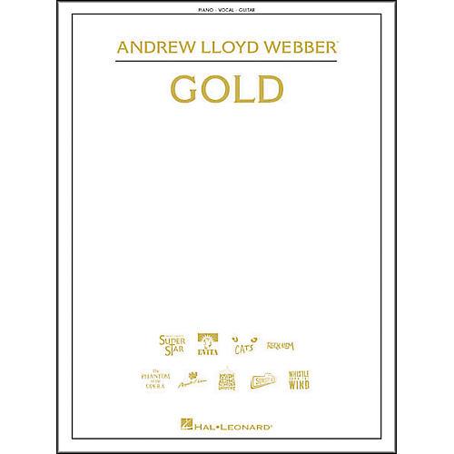 Hal Leonard Andrew Lloyd Webber - Gold Piano/Vocal/Guitar Songbook-thumbnail