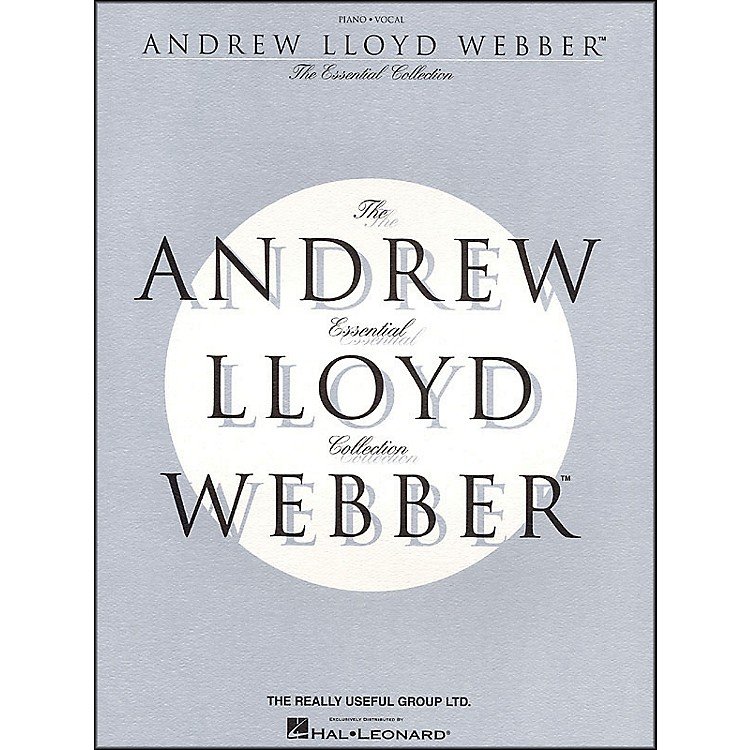 Hal LeonardAndrew Lloyd Webber - The Essential Collection arranged for piano, vocal, and guitar (P/V/G)