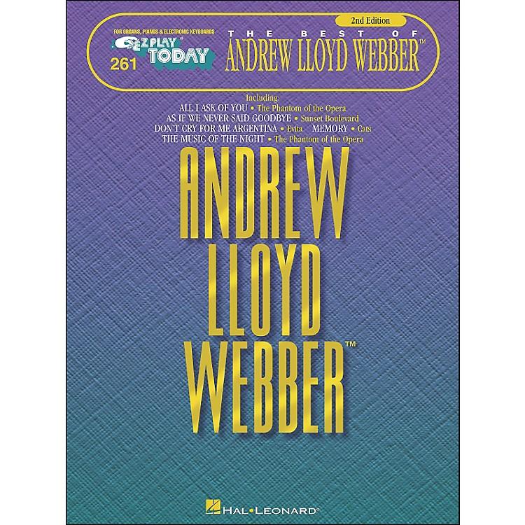 Hal LeonardAndrew Lloyd Webber 2nd Edition E-Z Play 261