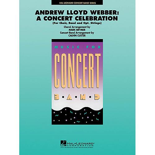 Hal Leonard Andrew Lloyd Webber: A Concert Celebration (Medley) Concert Band Level 4 by Mark Brymer, Calvin Custer-thumbnail