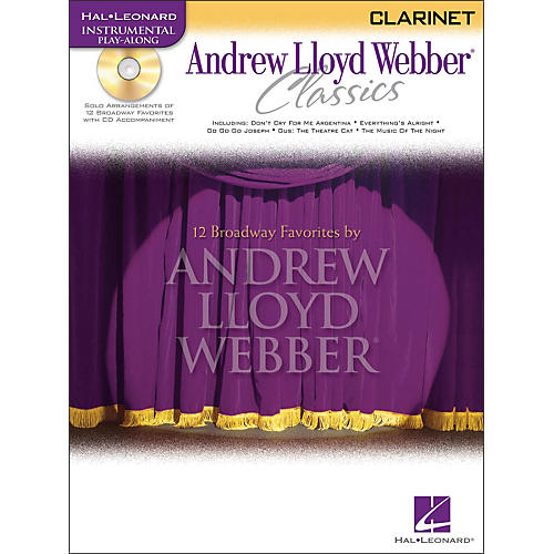 Hal Leonard Andrew Lloyd Webber Classics for Clarinet Book/CD-thumbnail