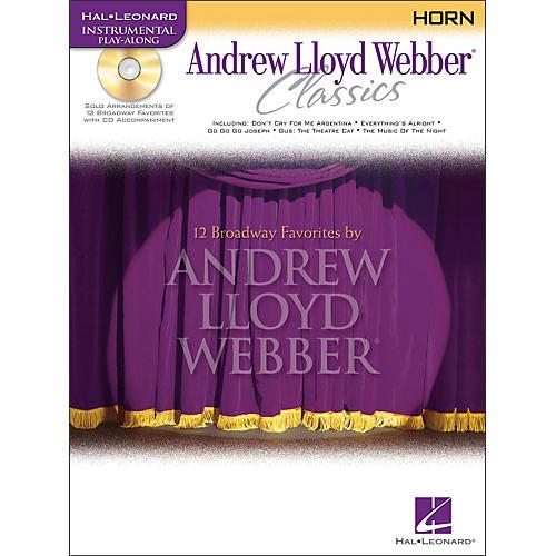Hal Leonard Andrew Lloyd Webber Classics for French Horn Book/CD