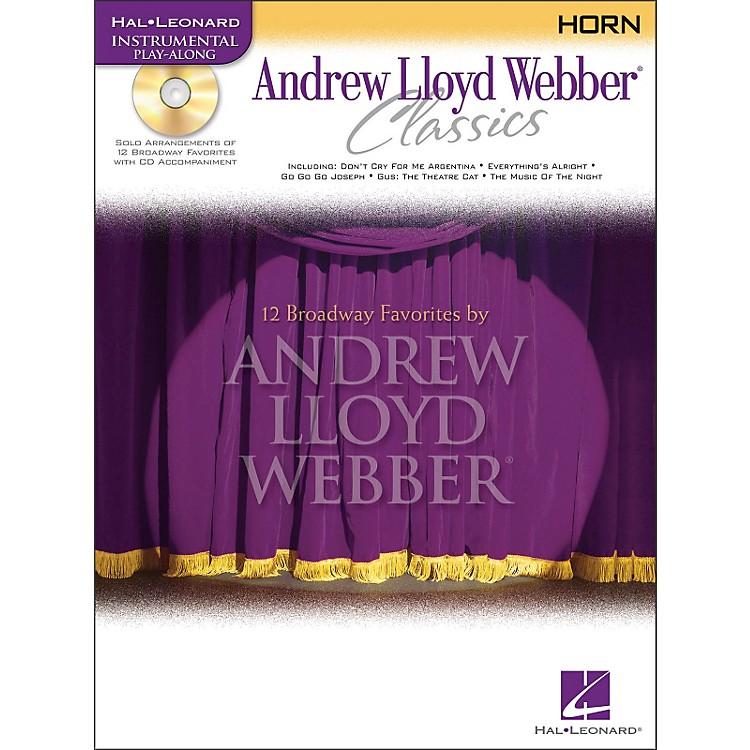 Hal LeonardAndrew Lloyd Webber Classics for French Horn Book/CD