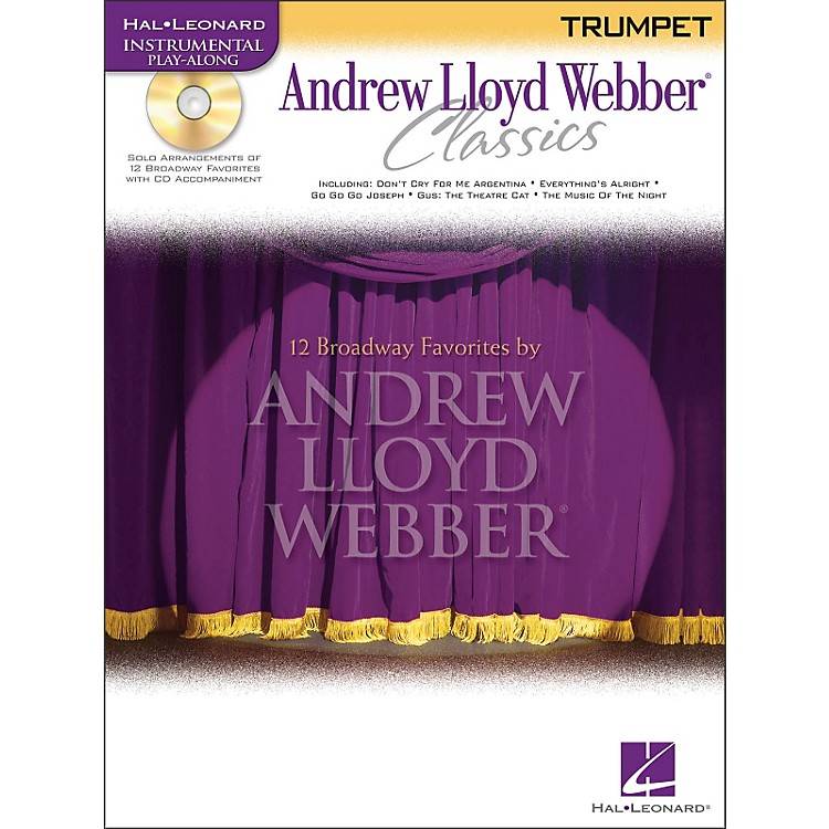 Hal Leonard Andrew Lloyd Webber Classics for Trumpet Book/CD
