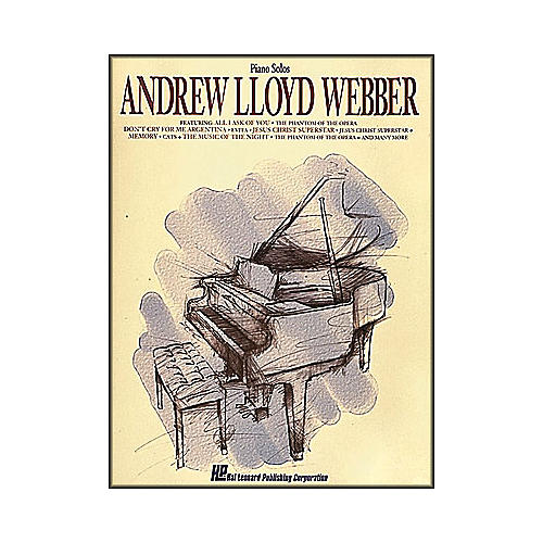 Hal Leonard Andrew Lloyd Webber arranged for piano solo-thumbnail