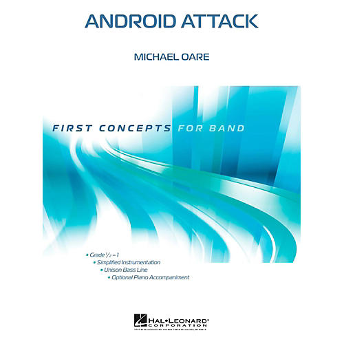 Hal Leonard Android Attack - First Concepts Concert Band Level 1-thumbnail