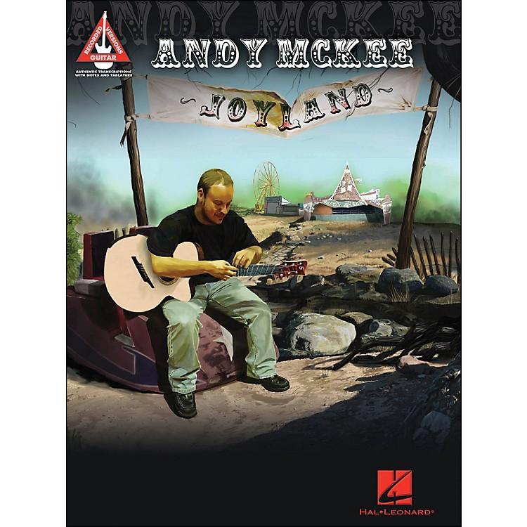 Hal LeonardAndy Mckee - Joyland Guitar Tab Songbook