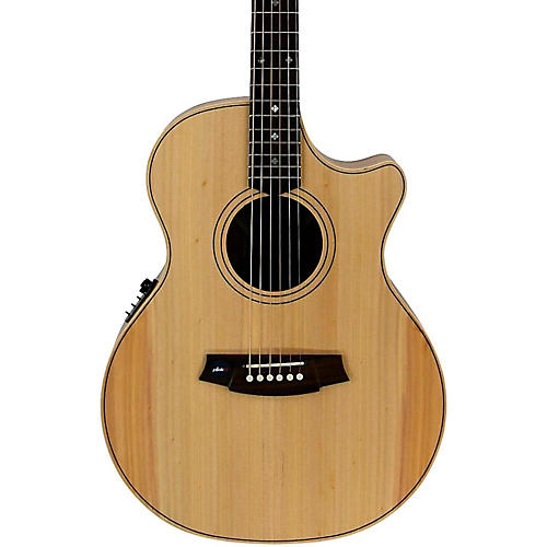 Cole Clark Angel 2 Series Bunya/Blackwood Grand Auditorium Acoustic-Electric Guitar-thumbnail