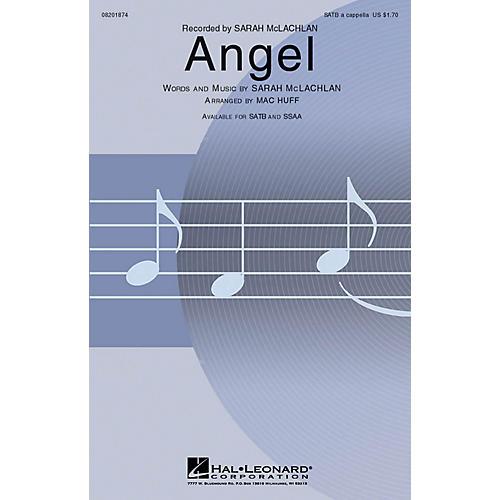 Hal Leonard Angel SATB a cappella by Sarah McLachlan arranged by Mac Huff