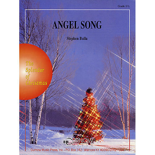 Curnow Music Angel Song (Grade 1.5 - Score Only) Concert Band Level 1.5 Composed by Stephen Bulla