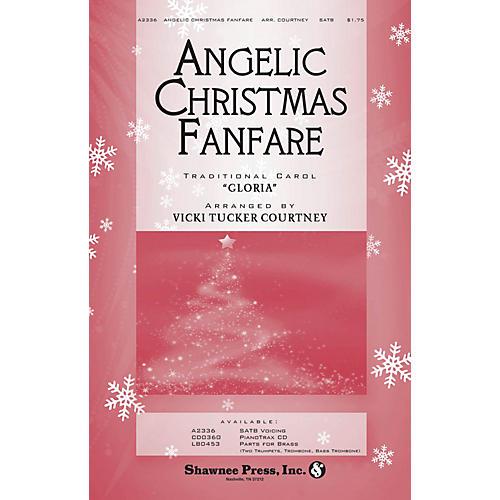 Shawnee Press Angelic Christmas Fanfare SATB arranged by Vicki Tucker Courtney-thumbnail
