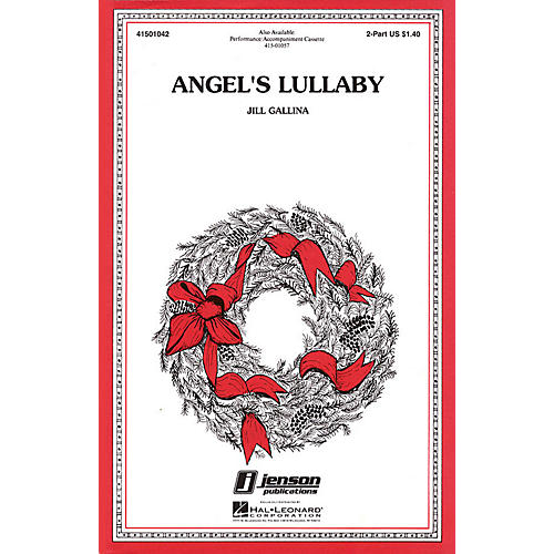 Hal Leonard Angel's Lullaby 2-Part composed by Jill Gallina-thumbnail