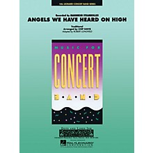 Hal Leonard Angels We Have Heard on High Concert Band Level 3-4 by Mannheim Steamroller Arranged by Robert Longfield