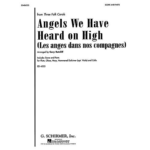 G. Schirmer Angels We Have Heard on High (from Three Folk Carols) Score & Parts arranged by Cary Ratcliff-thumbnail